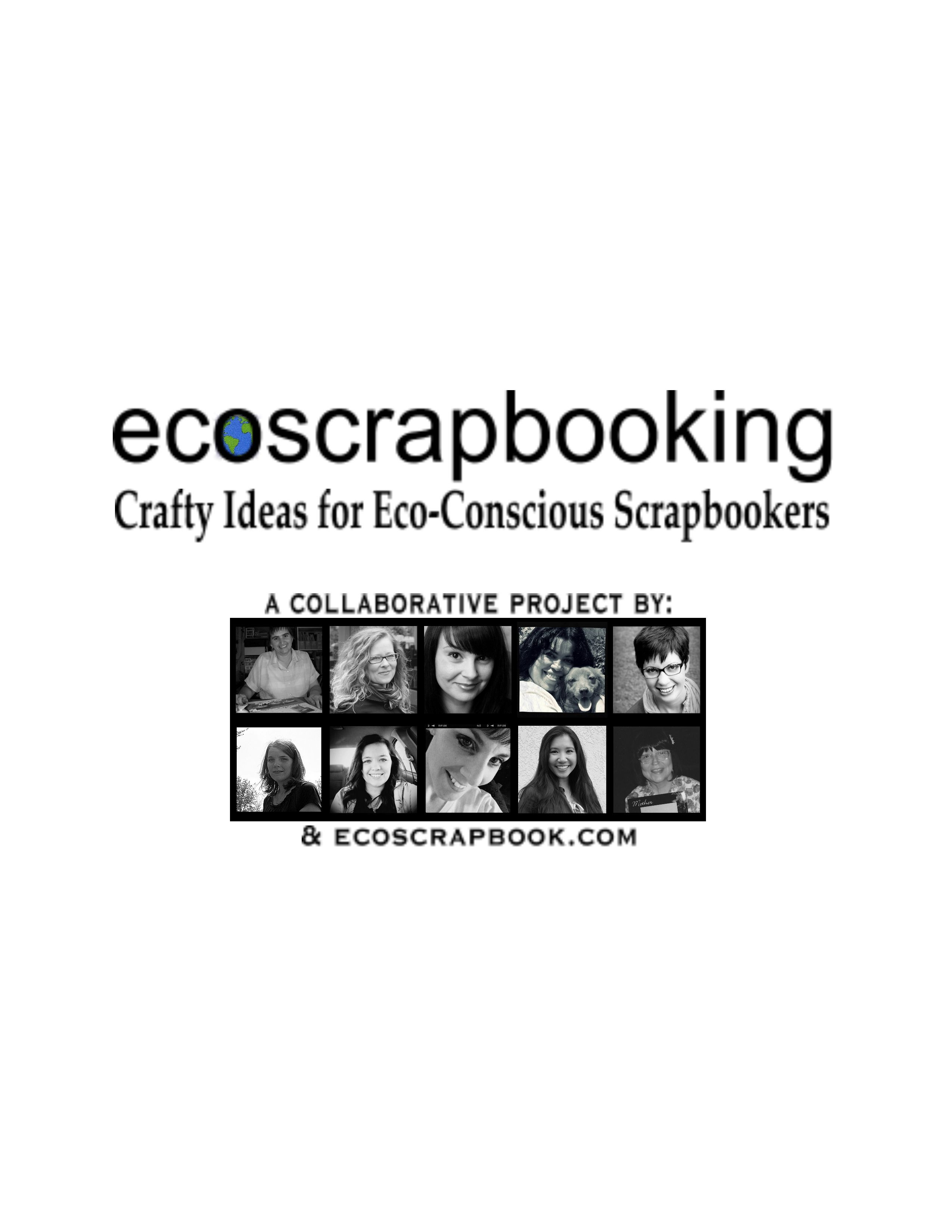 Cover image for EcoScrapbooking: Crafty Ideas for Eco-Conscious Scrapbookers